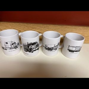 Vintage Mack Truck Mugs Collectors New in Box